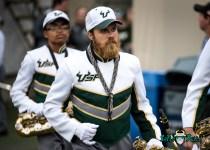 49 - Stony Brook vs. USF 2017 - USF Band by Dennis Akers | SoFloBulls.com (4807x3434)