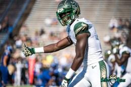 50 - USF vs. San Jose State 2017 - USF WR Darnell Salomon by Dennis Akers | SoFloBulls.com (6016x4016)