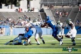 64 - USF vs. San Jose State 2017 - USF S Devin Abraham Auggie Sanchez by Dennis Akers | SoFloBulls.com (4597x3069)