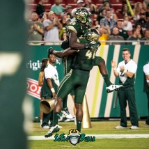 83 - Temple vs. USF 2017 - USF RB Trevon Sands by Dennis Akers | SoFloBulls.com (2685x2685)