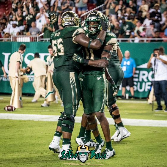 90 - Illinois vs. USF 2017 - USF WR Marquez Valdes-Scantling Eric Mayes by Dennis Akers | SoFloBulls.com (2808x2808)