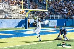 91 - USF vs. San Jose State 2017 - USF WR Temi Alaka by Dennis Akers | SoFloBulls.com (3669x2449)
