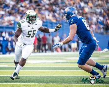 96 - USF vs. San Jose State 2017 - USF LB Josh Black by Dennis Akers   SoFloBulls.com (3834x3067)