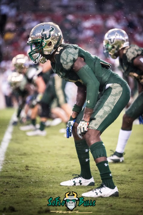 60 - USF vs. Houston 2017 - DB Mike Hampton by Dennis Akers | SoFloBulls.com (4016x6016)
