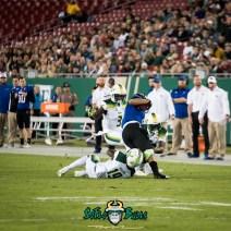 91 - Tulsa vs. USF 2017 - USF DB Ronnie Hoggins Deatrick Nichols by Dennis Akers | SoFloBulls.com (2488x2488)