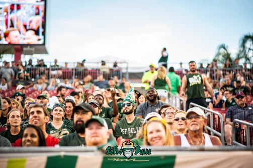 104 - Elon vs. USF 2018 - USF Fans in Crowd by Dennis Akers | SoFloBulls.com (6016x4016)
