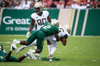 30 - Georgia Tech vs. USF 2018 - USF LB Khalid McGee by Dennis Akers | SoFloBulls.com (4919x3284)