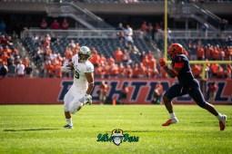 33 - USF vs. Illinois 2018 - USF TE Mitchell Wilcox by Dennis Akers   SoFloBulls.com (4368x2916)