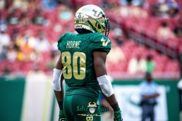85 - Georgia Tech vs. USF 2018 - USF WR Terrence Horne by Dennis Akers | SoFloBulls.com (6016x4016)