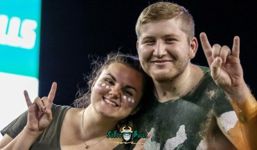 103 - USF vs. UConn 2018 - USF Students in Crowd by Will Turner | SoFloBulls.com (4762x2792) - 0H8A8743