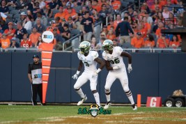 105 - USF vs. Illinois 2018 - USF WR Darnell Salomon Stanley Clerveaux by Dennis Akers | SoFloBulls.com (3499x2336)
