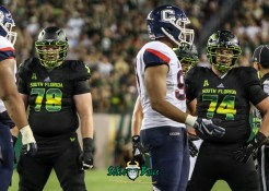 112 - USF vs. UConn 2018 - USF OL Billy Atterbury Brad Cecil by Will Turner | SoFloBulls.com (3641x2601) - 0H8A8772