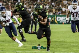 116 - USF vs. UConn 2018 - USF RB Johnny Ford by Will Turner | SoFloBulls.com (4223x2835) - 0H8A8788