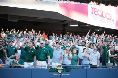 117 - USF vs. Illinois 2018 - USF Fans in crowd at Soldier Field by Dennis Akers | SoFloBulls.com (6016x4016)