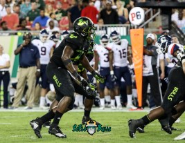 130 - USF vs. UConn 2018 - USF DE Greg Reaves by Will Turner | SoFloBulls.com (3162x2455) - 0H8A8878