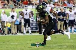 161 - USF vs. UConn 2018 - USF RB Johnny Ford by Will Turner | SoFloBulls.com (3978x2635) - 0H8A9180