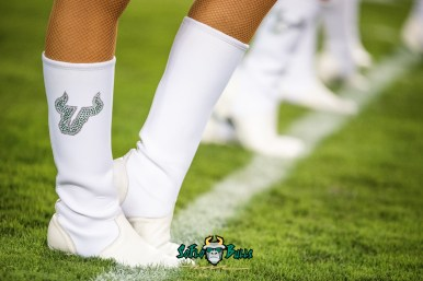 19 - USF vs. ECU 2018 - USF Cheerleaders with white boots at Raymond James Stadium by Dennis Akers | SoFloBulls.com (6016x4016)