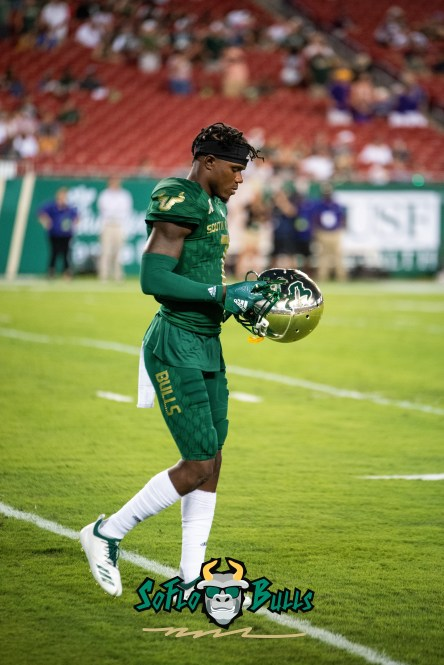 30 - USF vs. ECU 2018 - USF DB Mike Hampton by Dennis Akers | SoFloBulls.com (4016x6016)