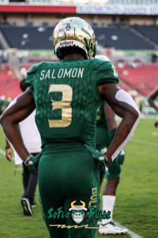 34 - USF vs. UConn 2018 - USF WR Darnell Salomon by Will Turner | SoFloBulls.com (3181x4787) - 0H8A8316