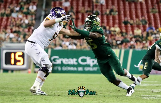 47A - USF vs. ECU 2018 - USF LB Josh Black by Will Turner | SoFloBulls.com (4221x2706)