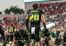 55 - USF vs. UConn 2018 - USF DB Bentlee Sanders by Will Turner | SoFloBulls.com (3978x2844) - 0H8A8414