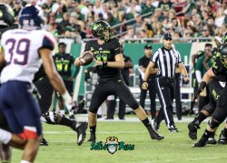 64 - USF vs. UConn 2018 - USF QB Blake Barnett by Will Turner   SoFloBulls.com (3455x2481) - 0H8A8461
