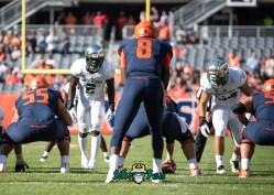 71 - USF vs. Illinois 2018 - USF LB Khalid McGee Nico Sawtelle by Dennis Akers | SoFloBulls.com (3532x2523)