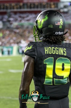 73 - USF vs. UConn 2018 - USF DB Ronnie Hoggins by Will Turner | SoFloBulls.com (3240x4893) - 0H8A8547