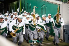 8 - USF vs. ECU 2018 - USF Band Exiting Tunnel at Raymond James Stadium by Dennis Akers | SoFloBulls.com (6016x4016)
