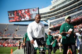 80 - USF vs. Illinois 2018 - USF Head Coach Charlie Strong by Dennis Akers | SoFloBulls.com (6016x4016)