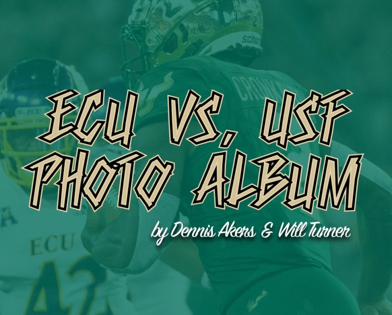 📌 ECU vs. USF 2018 Football Photo Album by Dennis Akers and Will Turner | SoFloBulls.com