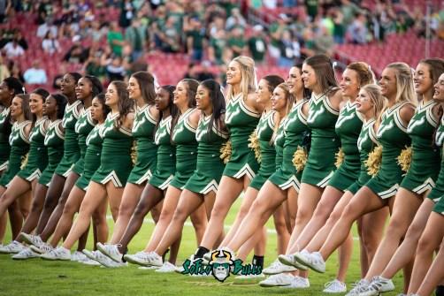 17 - UCF vs. USF 2018 - USF All Girls Cheerleaders Pre-Game by Dennis Akers | SoFloBulls.com