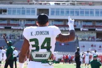 23 - USF vs. Houston 2018 - USF LB Keirston Johnson by Will Turner | SoFloBulls.com (5472x3648) - 0H8A9361