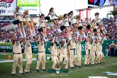 37 - Tulane vs. USF 2018 - USF Coed Cheerleaders by Dennis Akers | SoFloBulls.com (5039x3364)