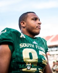 50 - Tulane vs. USF 2018 - USF DT Tyrone Barber by Dennis Akers | SoFloBulls.com (3771x4714)