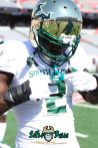 58 - USF vs. Houston 2018 - USF LB Khalid McGee by Will Turner | SoFloBulls.com (3648x5472) - 0H8A9450