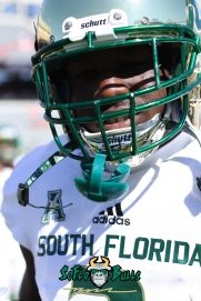 60 - USF vs. Houston 2018 - USF LB Khalid McGee by Will Turner | SoFloBulls.com (3648x5472) - 0H8A9453