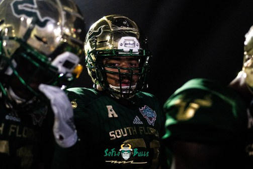 11 - Marshall vs. USF 2018 - USF OL Troy Fields by Dennis Akers | SoFloBulls.com