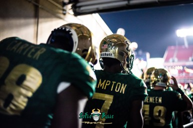 13 - Marshall vs. USF 2018 - USF DB Mike Hampton Chris Carter by Dennis Akers | SoFloBulls.com