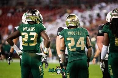 31 - Marshall vs. USF 2018 - USF DB Mazzi Wilkins Nick Roberts by Dennis Akers | SoFloBulls.com