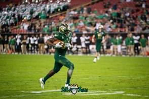 35 - Marshall vs. USF 2018 - USF WR Randall St. Felix by Dennis Akers | SoFloBulls.com
