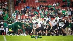 39 - Marshall vs. USF 2018 - USF DL vs. Marshall OL by Dennis Akers | SoFloBulls.com