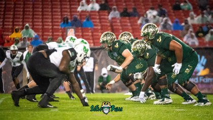 85 - Marshall vs. USF 2018 - USF OL vs. Marshall DL by Dennis Akers | SoFloBulls.com