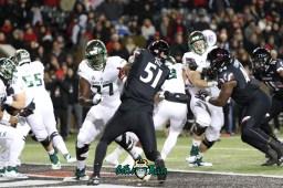 36 – USF vs. Cincinnati 2018 – USF OL Marcus Norman Billy Atterbury by Will Turner – SoFloBulls.com – 0H8A1035