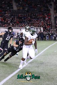 58 – USF vs. Cincinnati 2018 – USF WR Tyre McCants by Will Turner – SoFloBulls.com – 0H8A1121