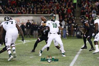 72 – USF vs. Cincinnati 2018 – USF QB Chris Oladokun by Will Turner – SoFloBulls.com – 0H8A1162
