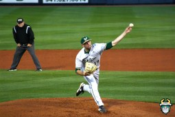 13 - South Florida Bulls vs. Tampa Bay Rays Baseball 2019 - LHP Pat Doudican by Tim O'Brien | SoFloBulls.com (3888x2592)