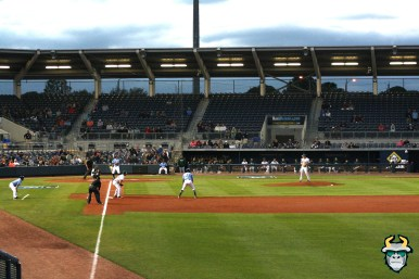 19 - South Florida Bulls vs. Tampa Bay Rays Baseball 2019 - Field Shot with the Rays at bat by Tim O'Brien | SoFloBulls.com (3888x2592)
