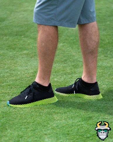108 - USF AD Mike Kelly rocking fire So Flo Style shoes Spring Game 2019 by Matthew Manuri 1391 IG (2753x3441)