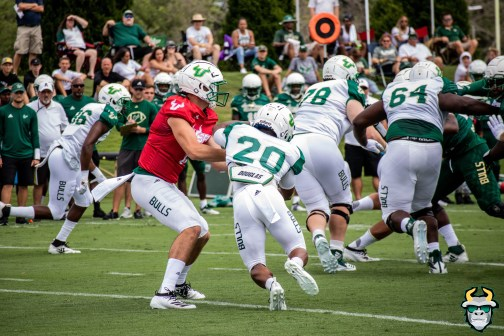 14 - USF QB Blake Barnett Johnny Ford Spring Game 2019 by David Gold 0469 (6000x4000)
